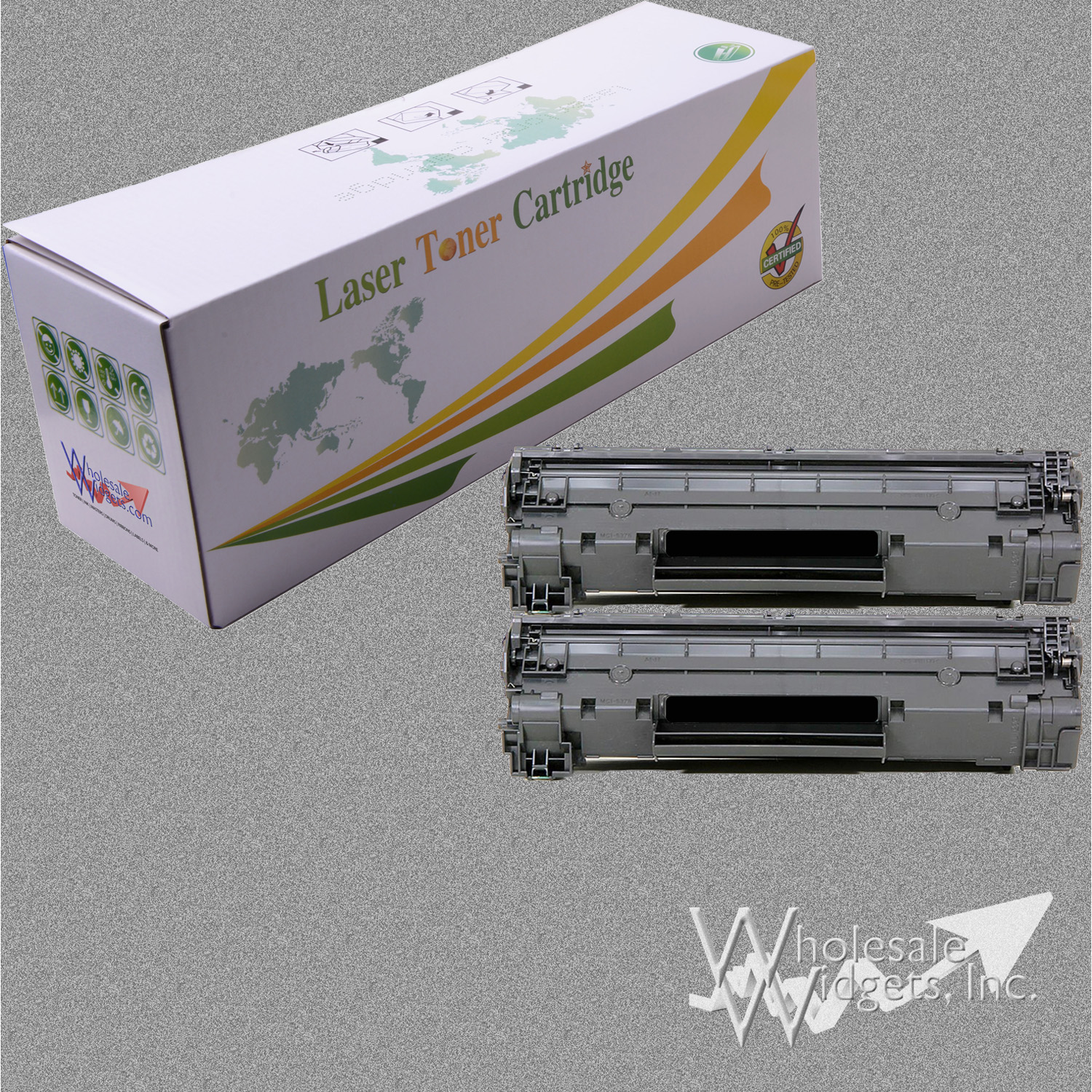 Compatible Hp 12a Black Toner For Use In Comp Cartridge Laserjet Quick View