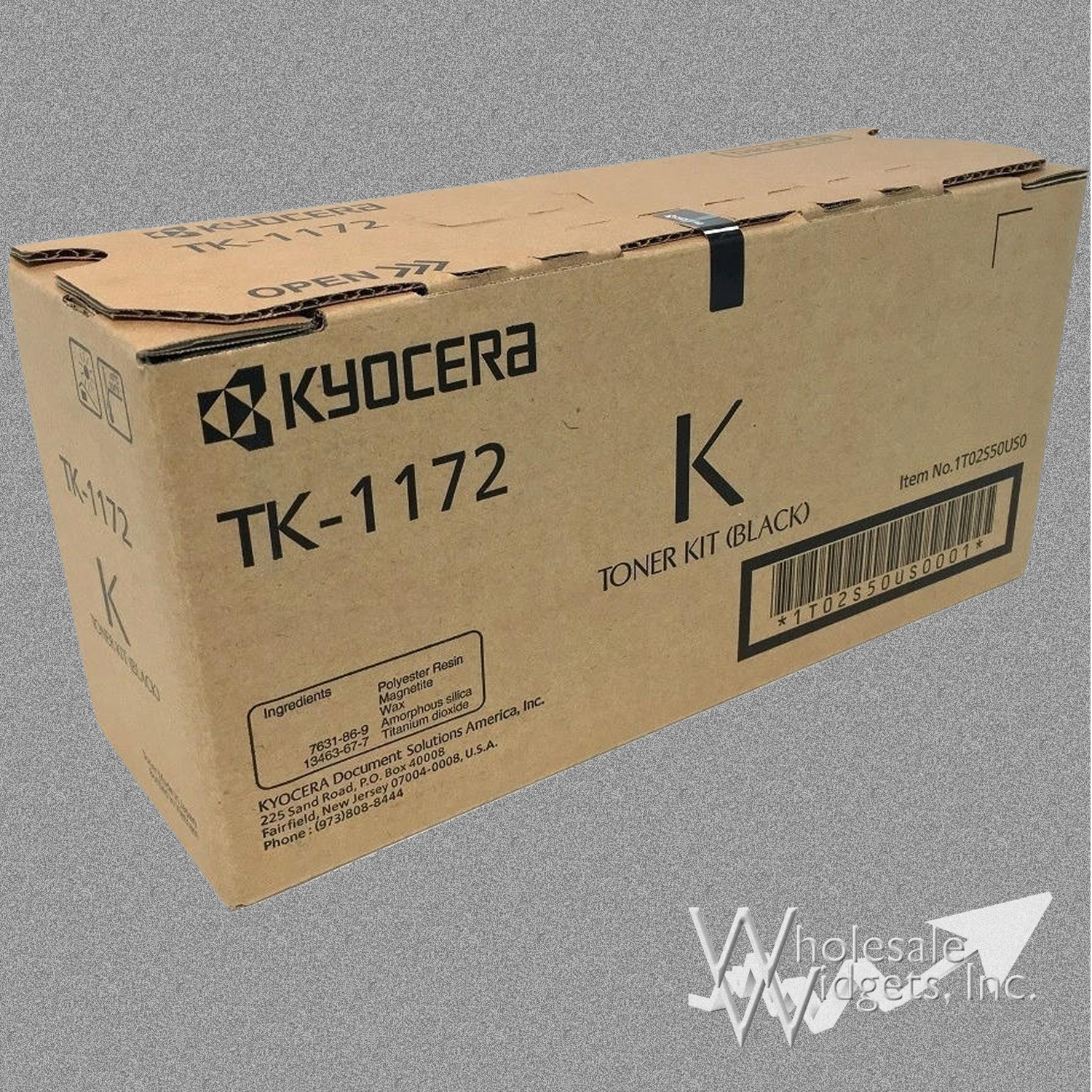 Kyocera Tk1172 Black Toner M 2040 Dn For Use In Ecosys M2040dn M2540dw M2640idw 1t02s50us0 Tk 1172