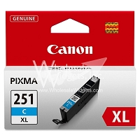 Canon CLI251XL Cyan Ink