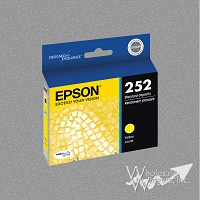 Compatible Epson T252XL420 Yellow Ink