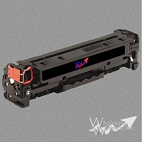 Compatible HP 312A Black Toner