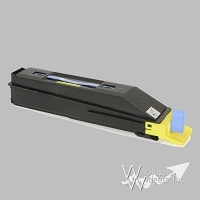 Compatible Kyocera TK857Y Yellow Toner