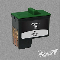Compatible Lexmark 16 Black Ink