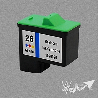 Compatible Lexmark 26 CMY Ink