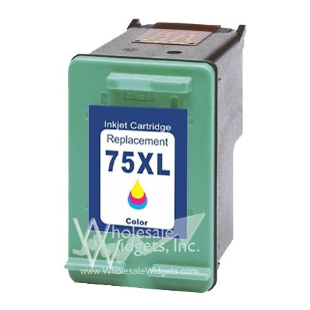 Compatible HP 75XL CMY Ink