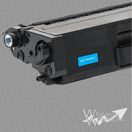 Compatible Brother TN339 Super HY Cyan Toner