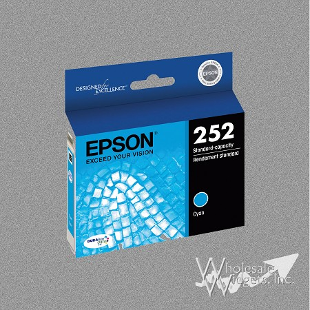 Compatible Epson T252XL220 Cyan Ink