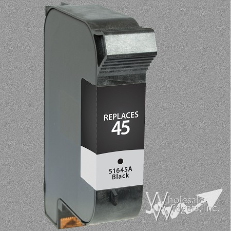 Compatible HP 45A Black Ink