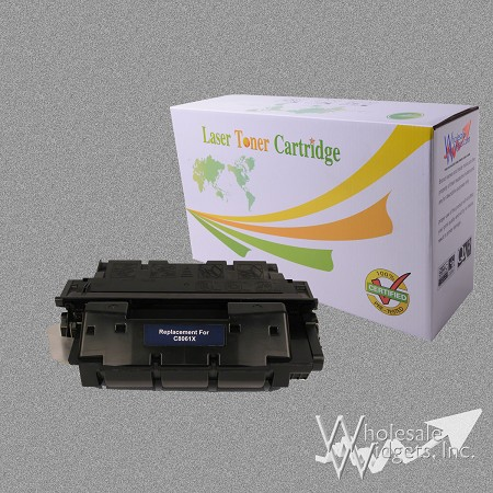 Compatible HP 61X Black Toner
