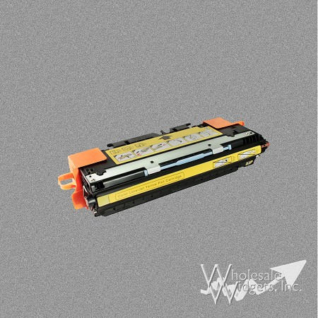 Compatible HP 642A Yellow Toner