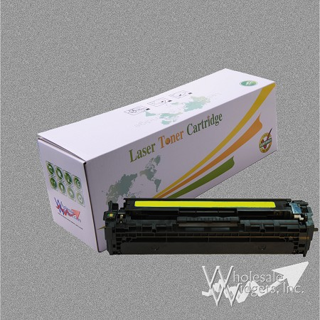 Compatible HP 125A Yellow Toner