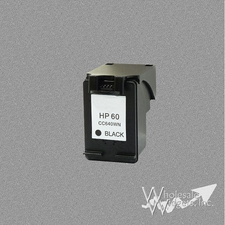 Compatible HP 60 Black Ink