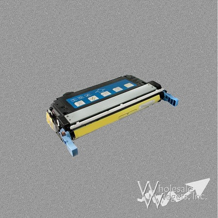 Compatible HP 644A Yellow Toner