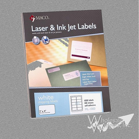Maco ML1000 2x4 Labels