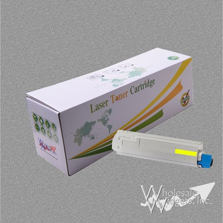 Compatible Oki 43324401 HY Yellow Toner