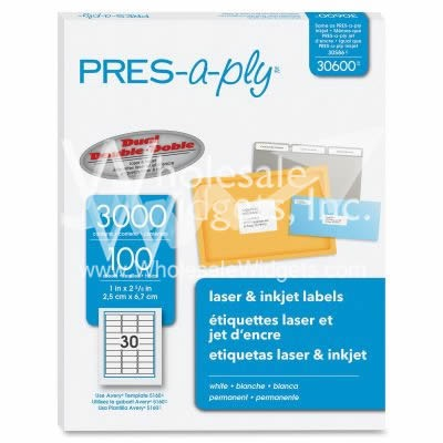 PRES-a-ply 30600 Laser Labels