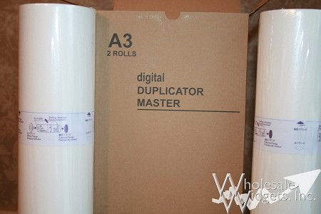 Wholesale Widgets S-132 Duplicator Masters Compatible With Riso S132 Box of 2