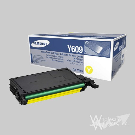 Samsung CLTY609S Yellow Toner