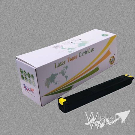 Compatible Sharp MX27NTYA Yellow Toner