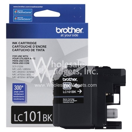 Brother Black LC101 Ink